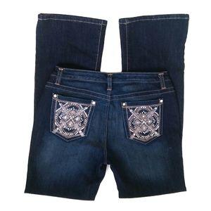 Nine West Cena Bootcut Jeans